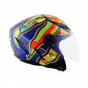 CAPACETE AGV BLADE FIVE CONTINENTS AZUL
