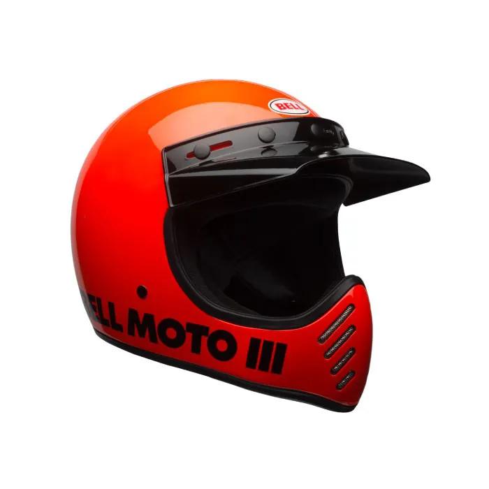 CAPACETE BELL MOTO 3 FLO LARANJA