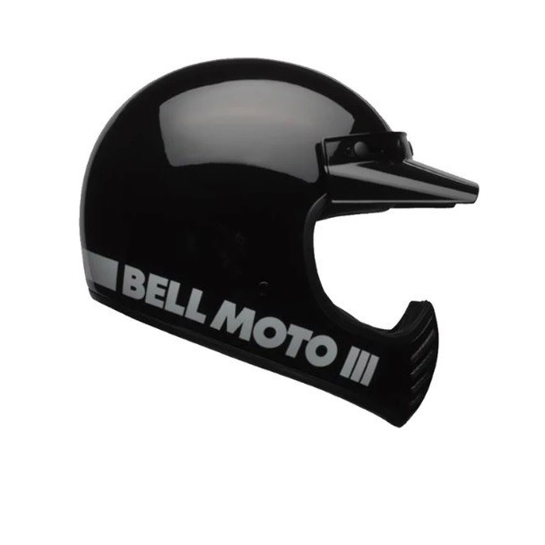 CAPACETE BELL MOTO 3 PRETO
