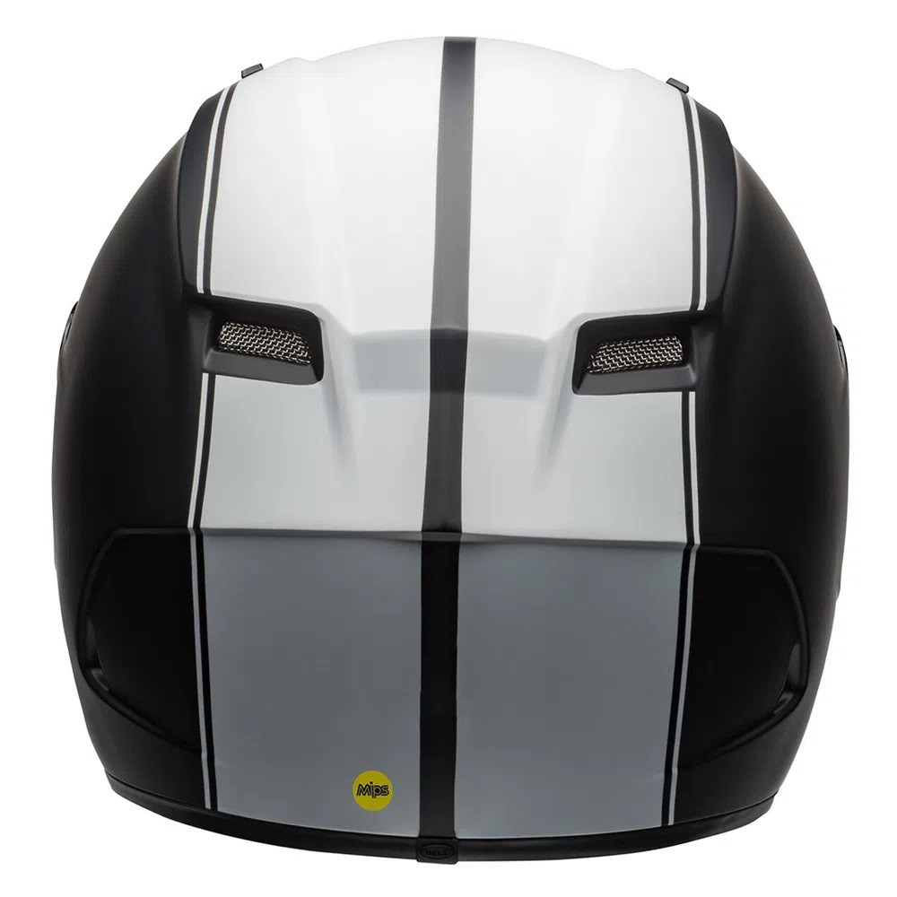 CAPACETE BELL QUALIFIER DLX MIPS RALLY PRETO BRANCO