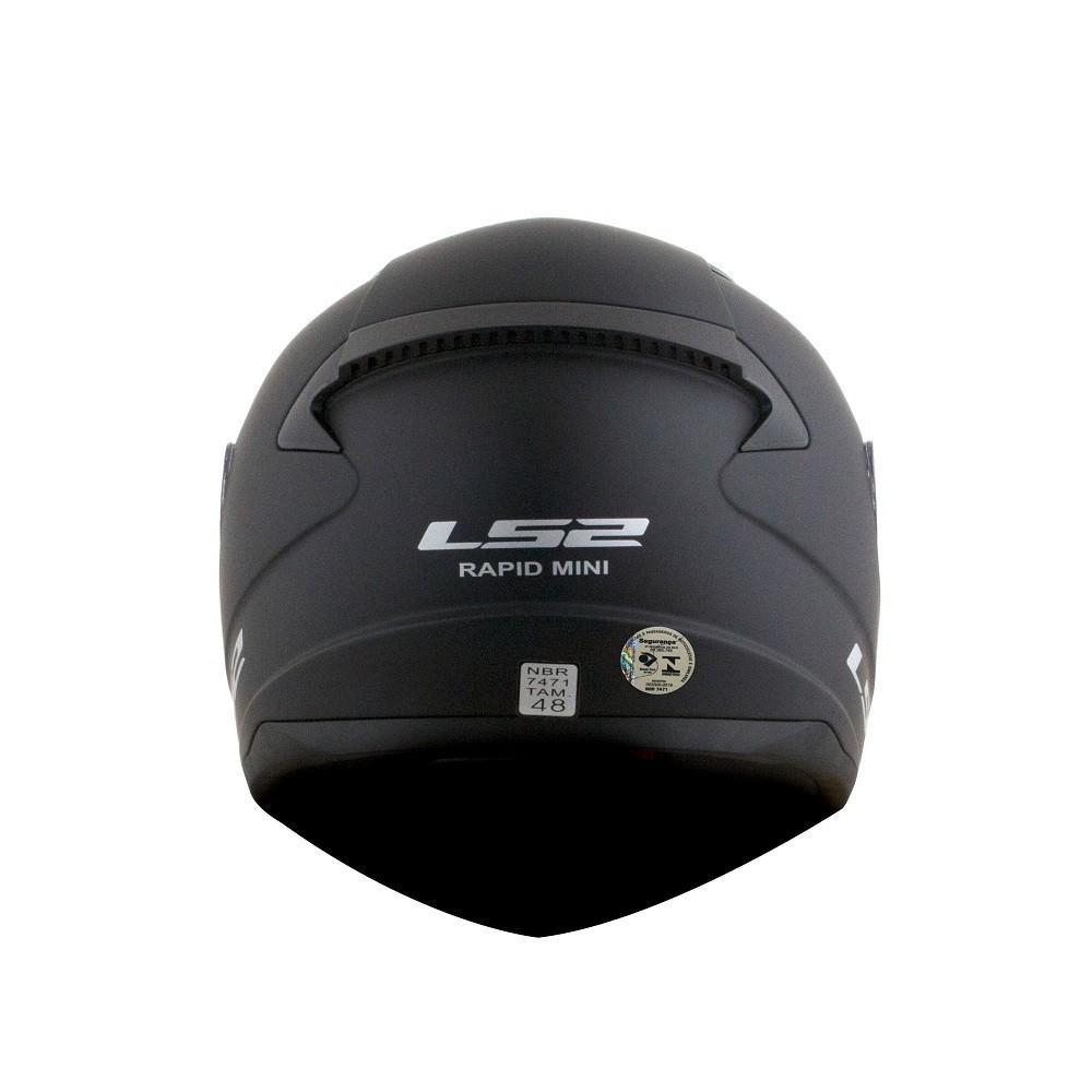 CAPACETE LS2 FF353 RAPID MINI MATT PRETO 52