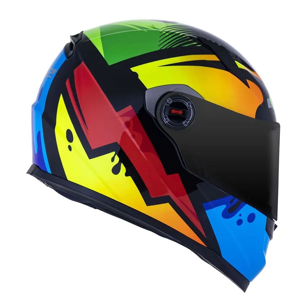 CAPACETE LS2 FF358 CLASSIC MASTERPIECE HV YELLOW