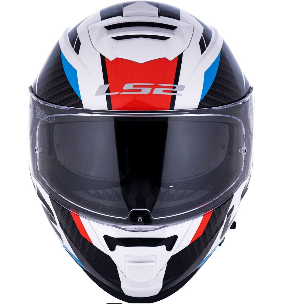 CAPACETE LS2 FF800 STORM RACER AZUL VERMELHO