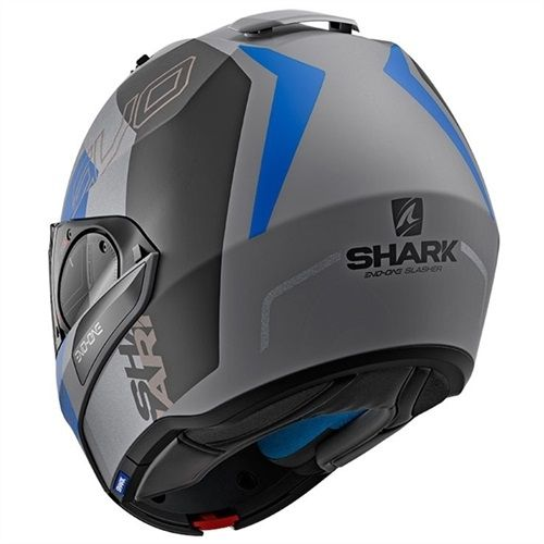 CAPACETE SHARK EVO ONE V2 SLASHER AKB CINZA
