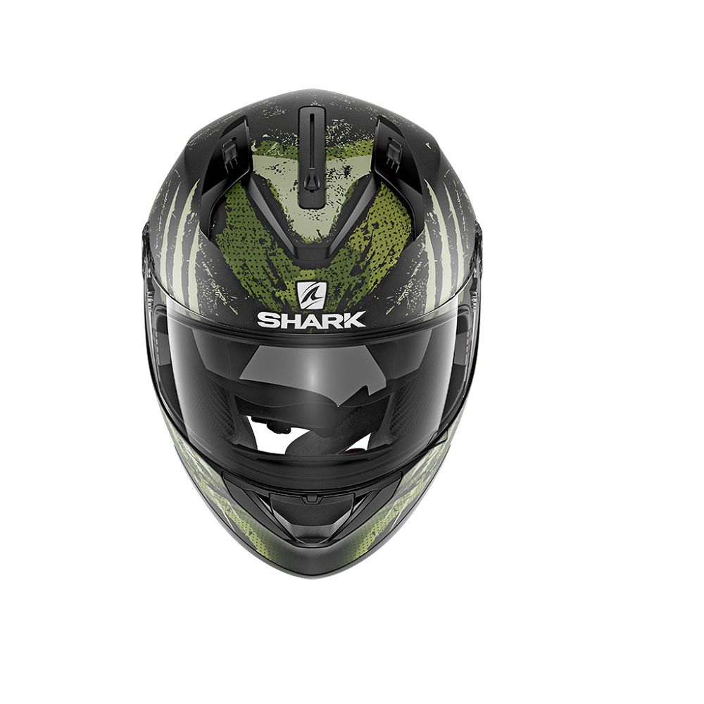 CAPACETE SHARK RIDIL THEREZY KWG PRETO OURO 56