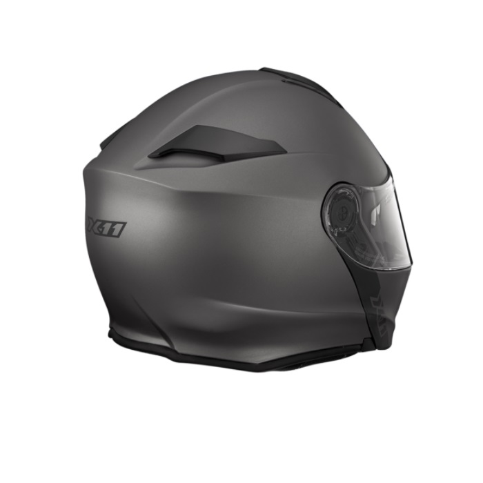 CAPACETE X11 TURNER SOLIDES CHUMBO METALICO