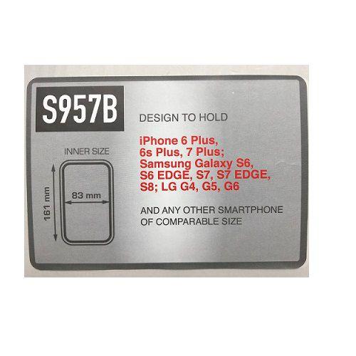 SUPORTE GIVI SMARTPHONE S957BBR IPHONE6 SAMSUNG NOTE 4