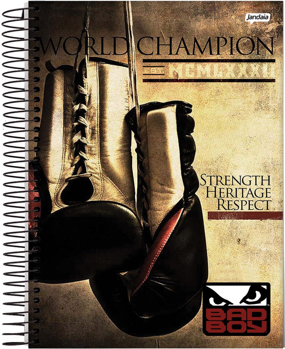 Caderno Bad Boy Campeão 96 folhas