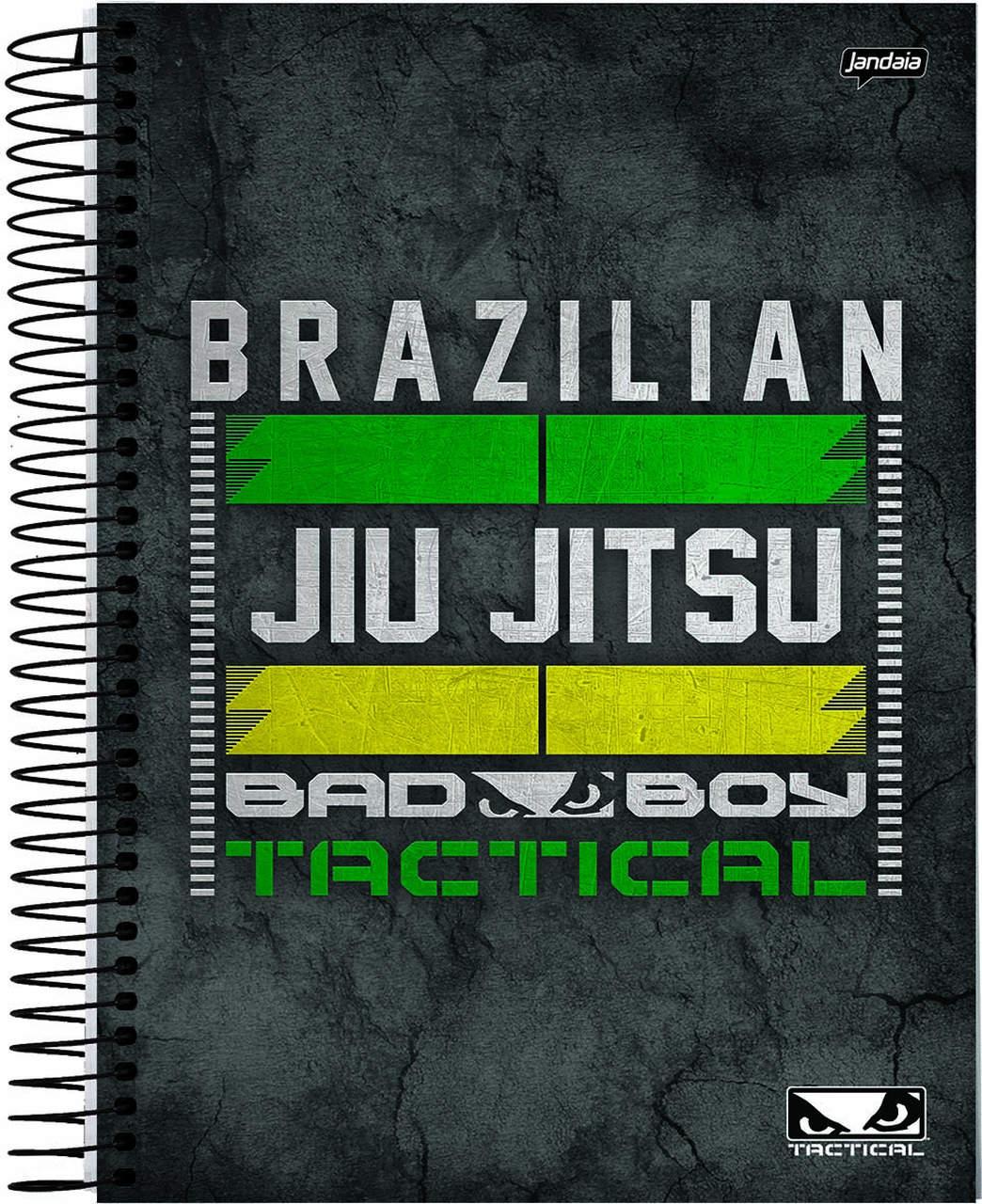Caderno Bad Boy Jiu Jitsu 300 folhas