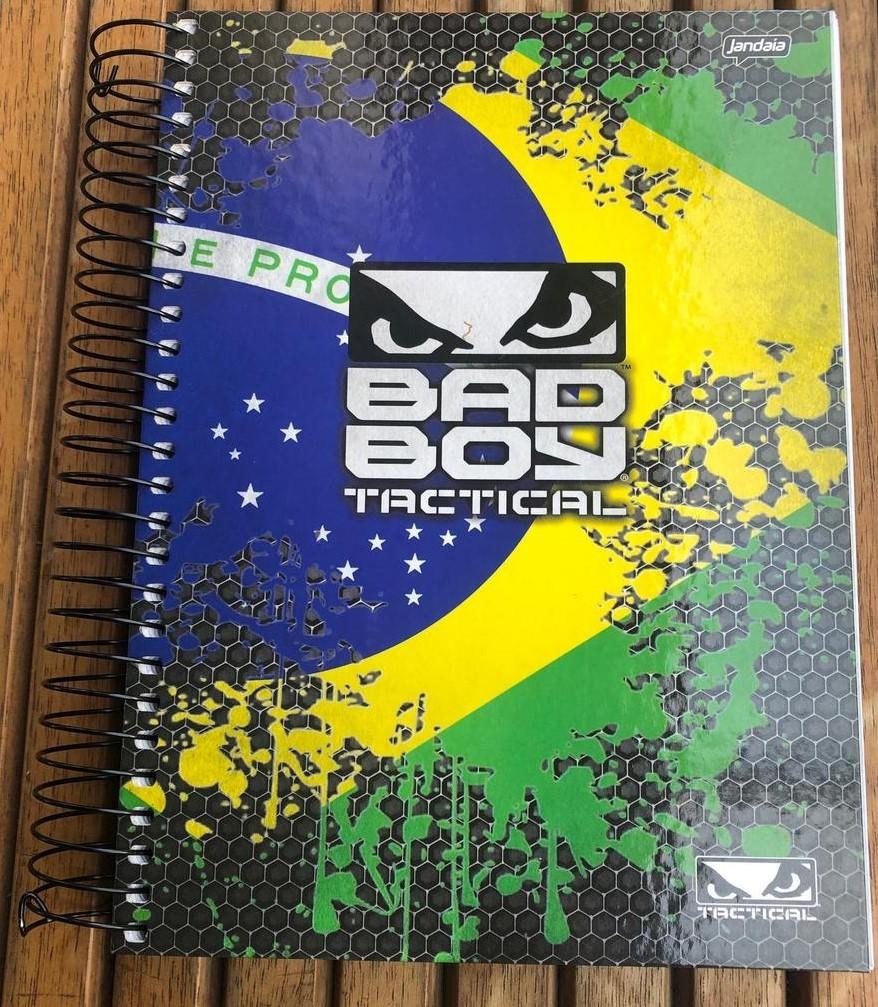 Caderno Bad Boy Tactical 300 folhas