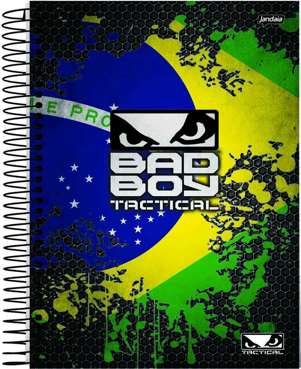 Caderno Bad Boy Tactical 96 folhas