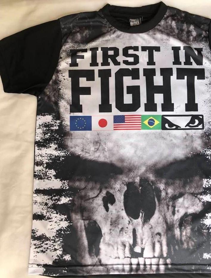 Camiseta Bad Boy A Primeira em Lutas
