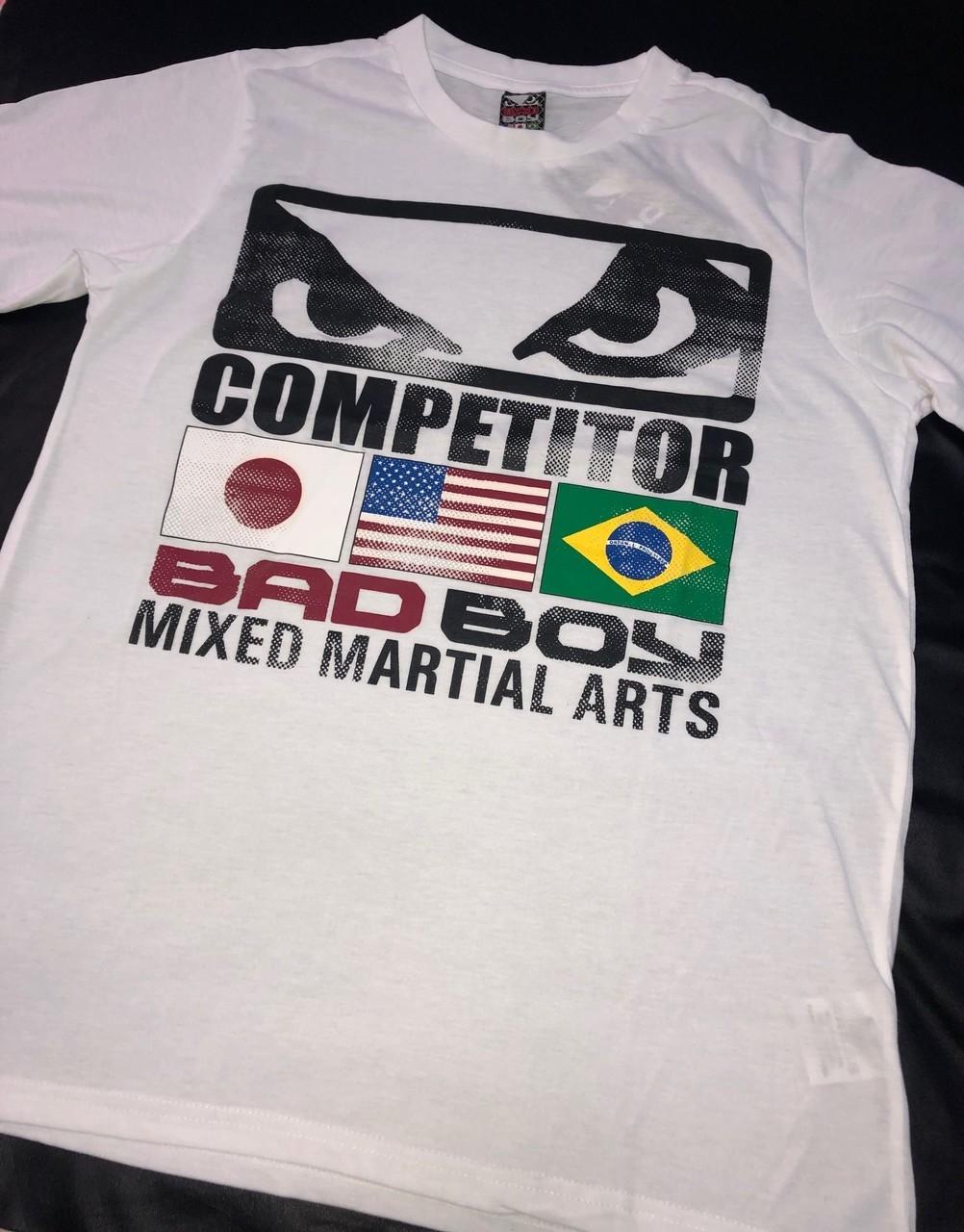Camiseta Bad Boy Competidor Branca