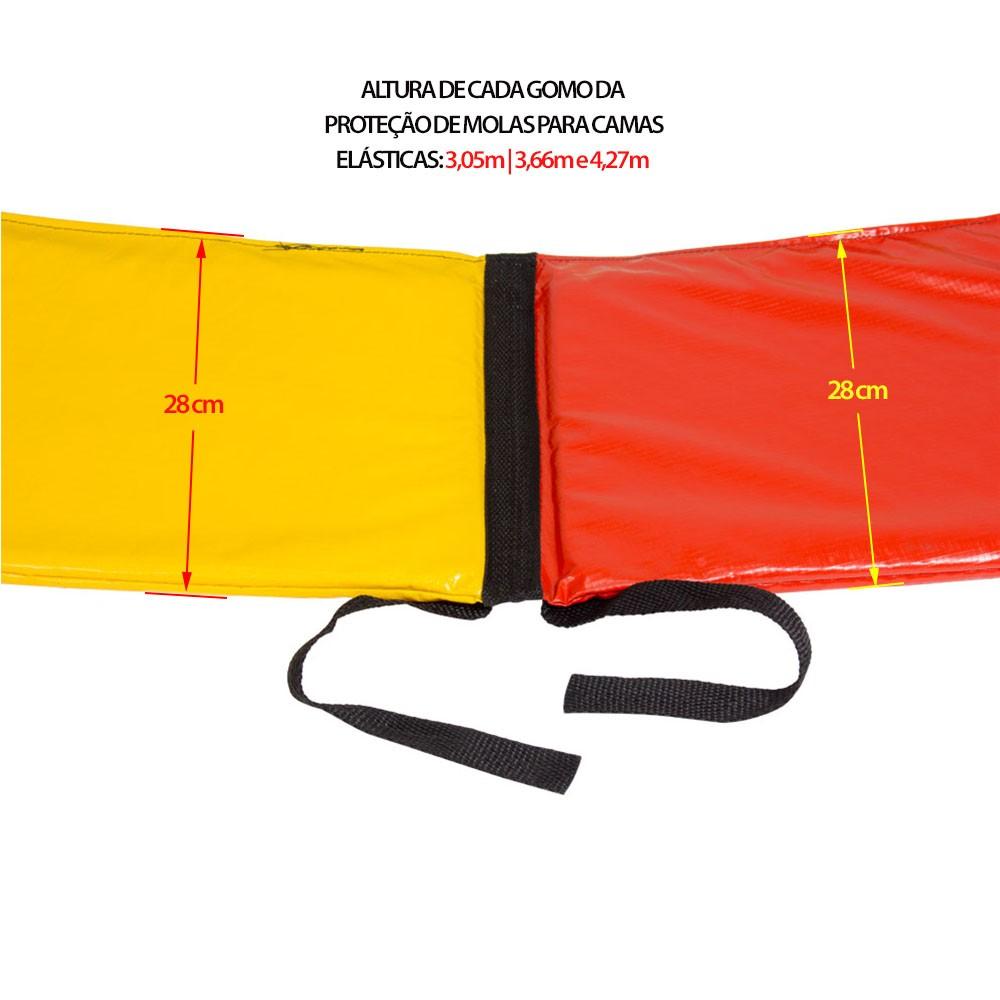 Proteção de Mola Canguri para Cama Elástica de 3,66 m