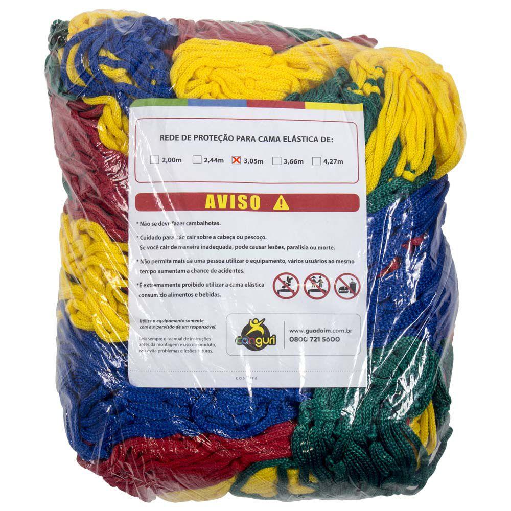Rede de Proteção para Cama Elástica 3,05/3,10 m Canguri