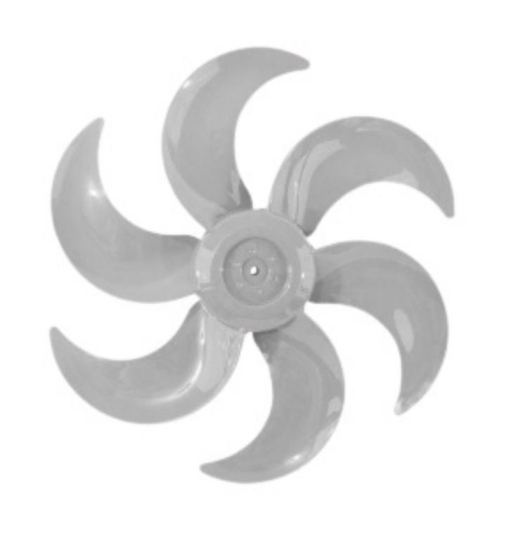 Hélice 6 pás para Ventiladores 50 Cm Vent New (modelo NOVO)