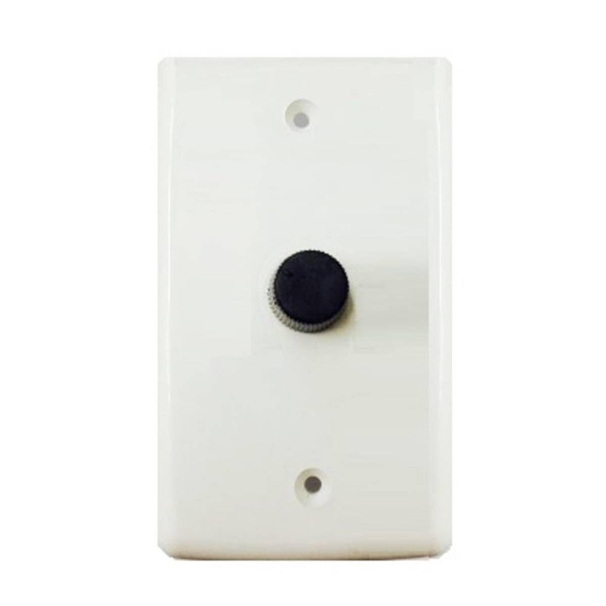 Kit 6 Ventiladores Parede Oscilante 50 Cm Preto / Prata Bivolt Grade Aço