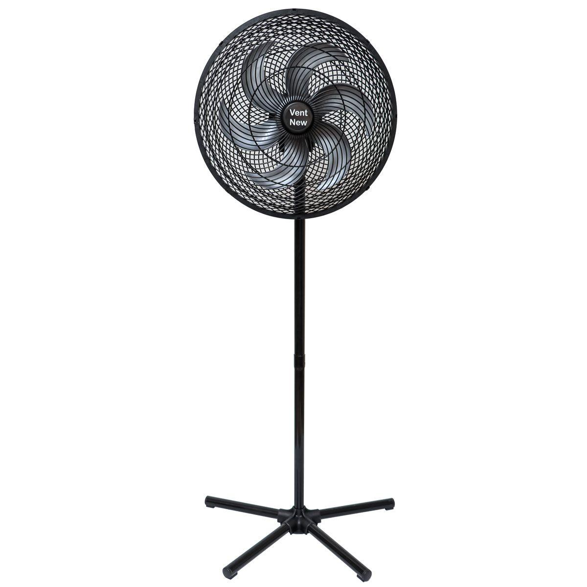 Ventilador De Coluna Oscilante 50 Cm Preto / Prata Bivolt