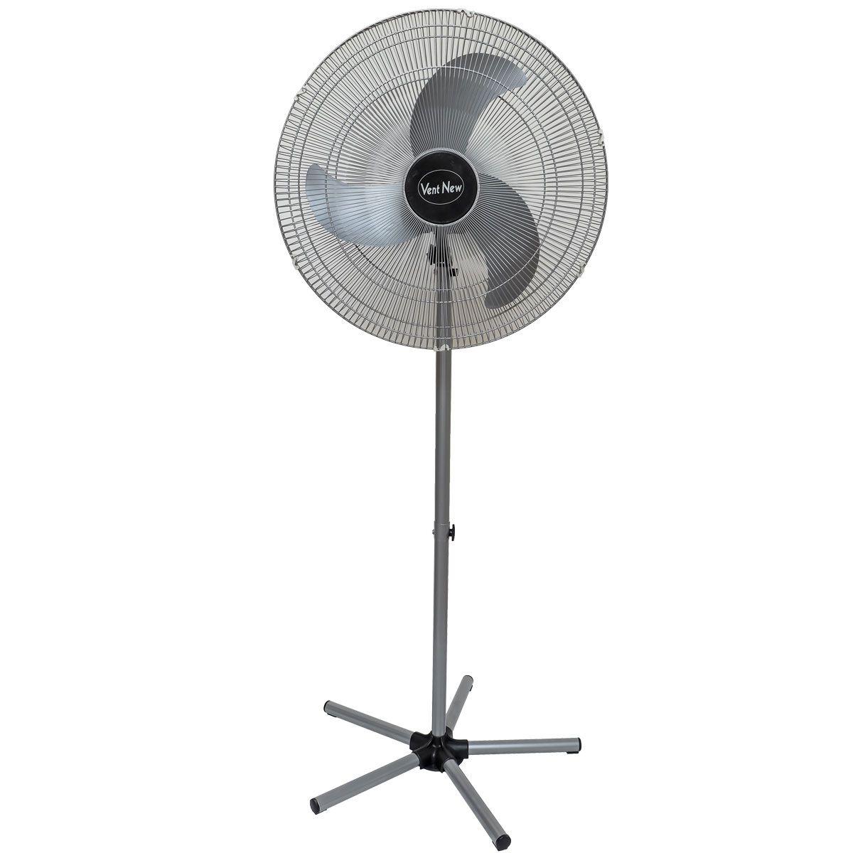 Ventilador De Coluna Oscilante 60 Cm Prata Bivolt
