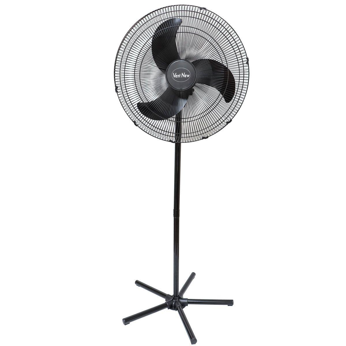 Ventilador De Coluna Oscilante 60 Cm Preto Bivolt