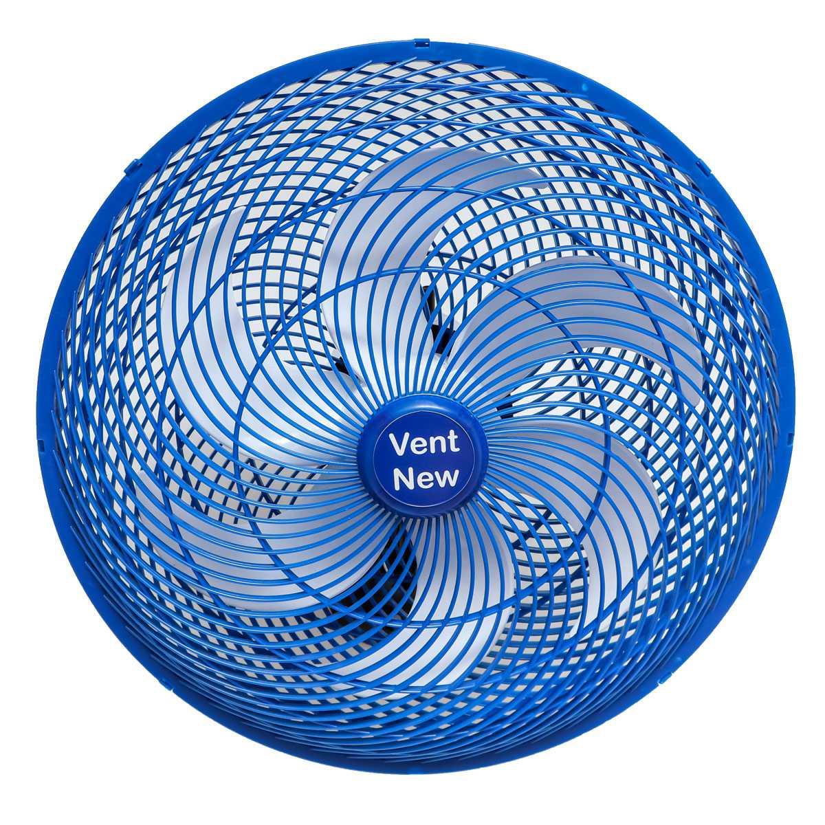 Ventilador Parede Oscilante 50 Cm Azul / Branco Bivolt