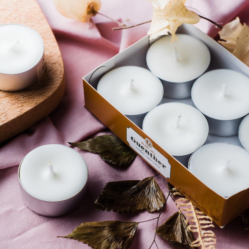 Vela Perfumada Caixa Rechaud Aroma Coco 72g