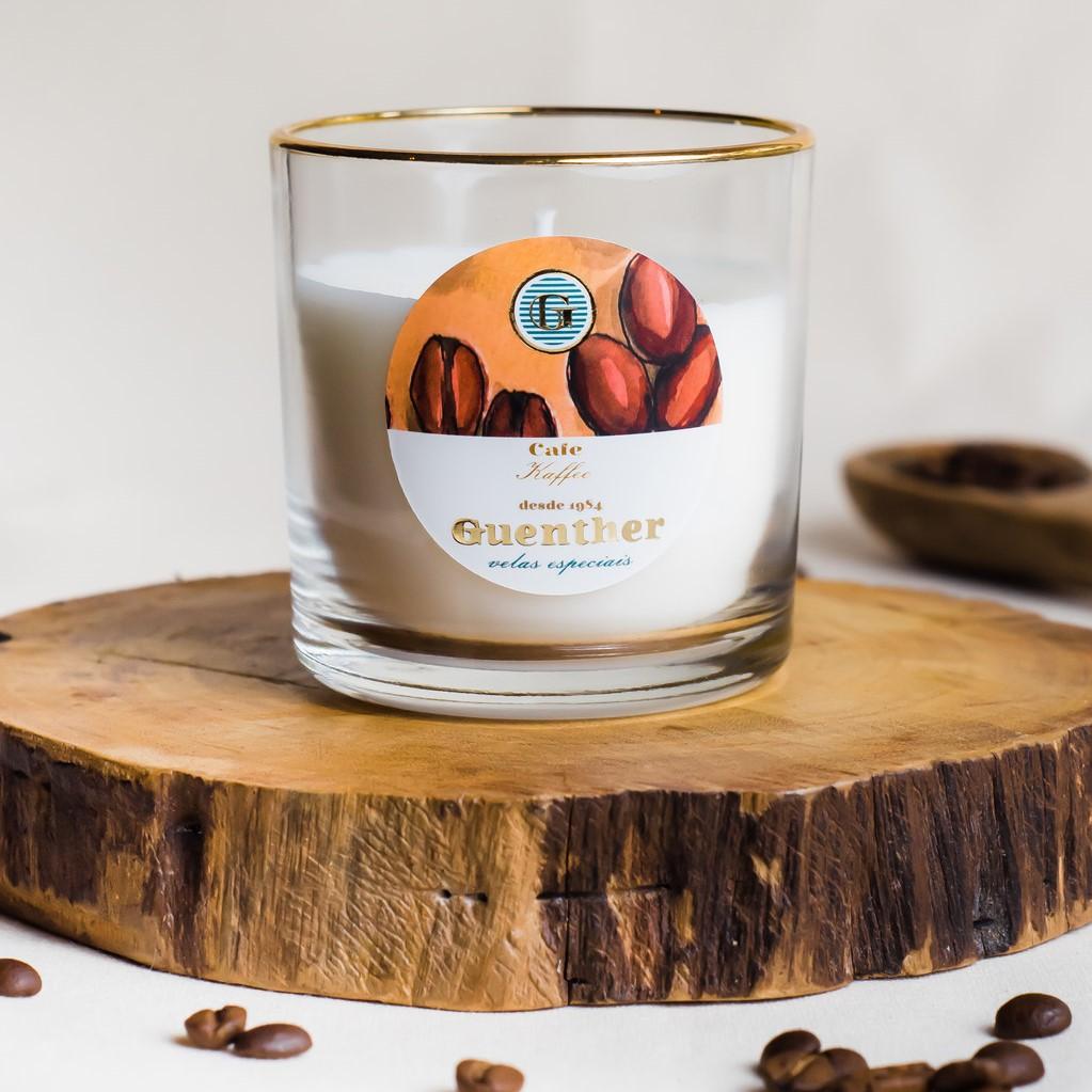 Vela Perfumada Copo Aroma Café 150g