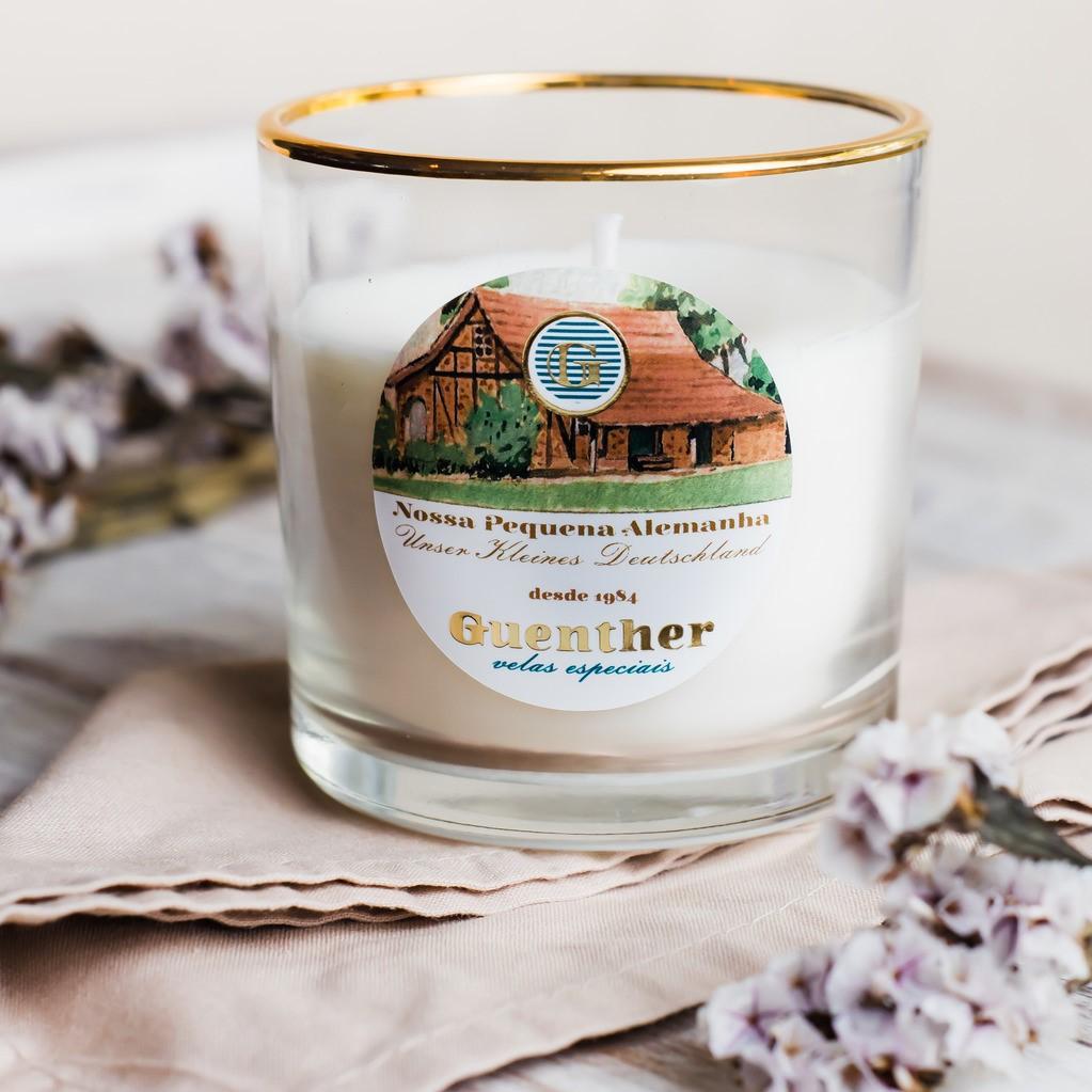 Vela Perfumada Copo Aroma Nossa Pequena Alemanha 150g