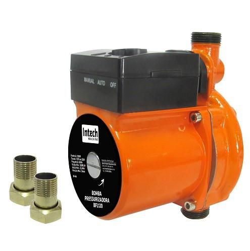 Bomba Pressurizadora 120 Watts 1600l 127v- Intech Machine