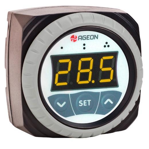 H201 85~264 Aparelho. p/ controle aut. de temp., baseado em téc. digital.