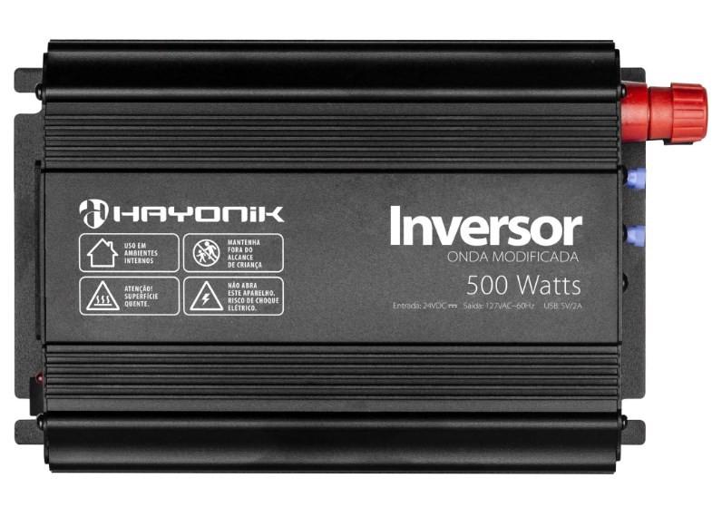 Inversor 500w 12vdc/127v Onda Modificada Hayonik PW