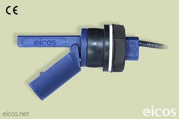 Sensor de Nível eicos LF222E-40 p/ radiadores -10°C  a 120°C