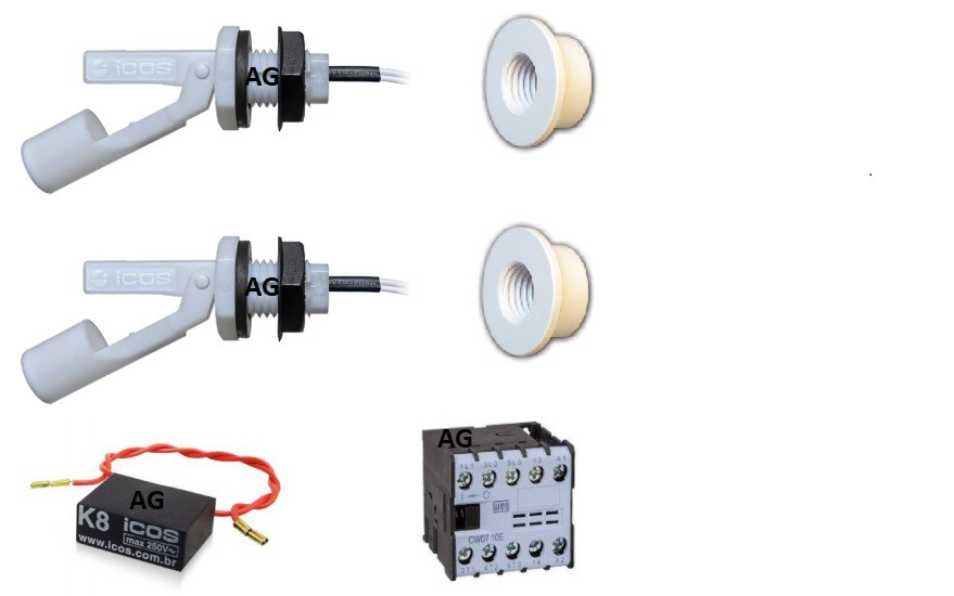Sensor de Nivel LA16M-40