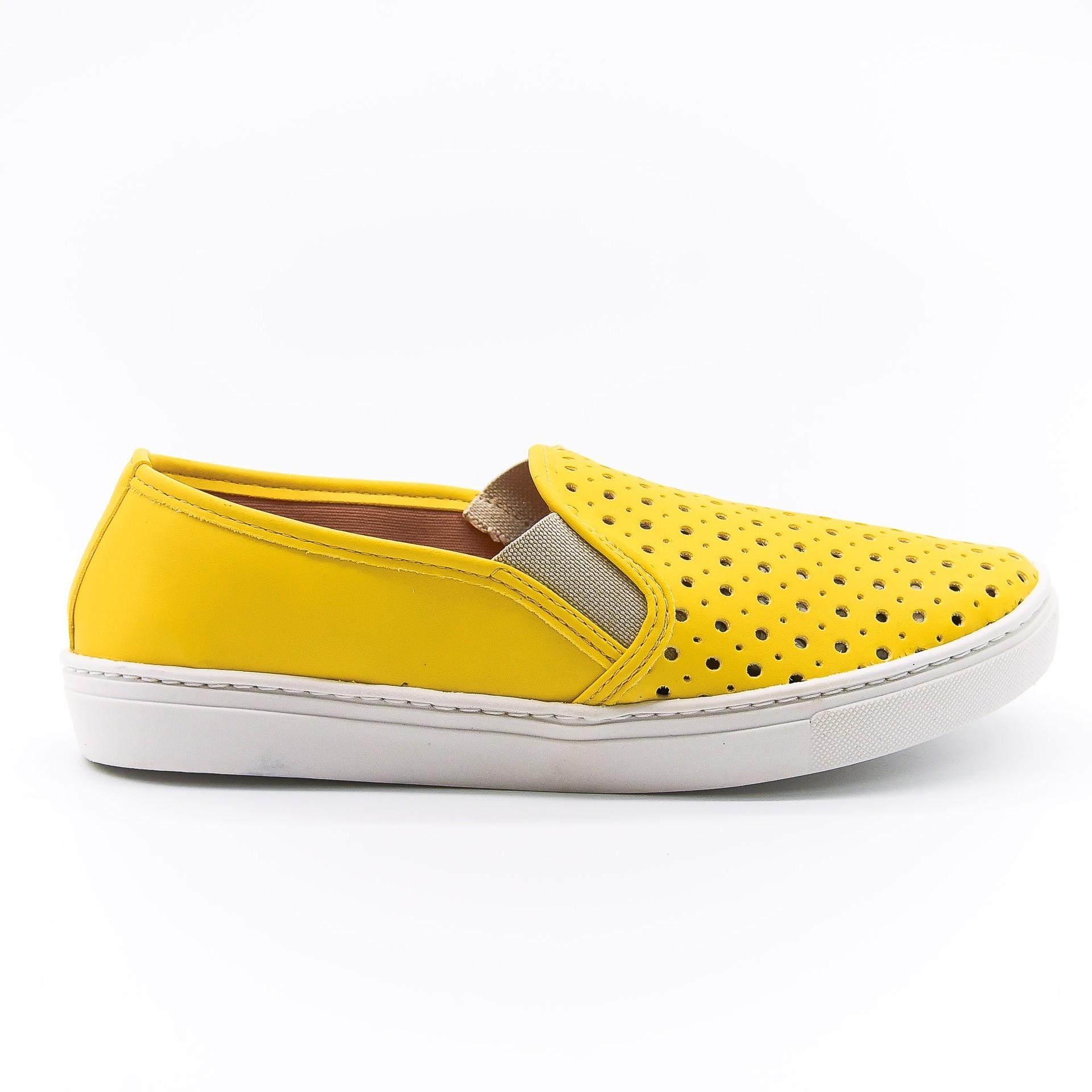 Slip-on amarelo Bendito Sapato