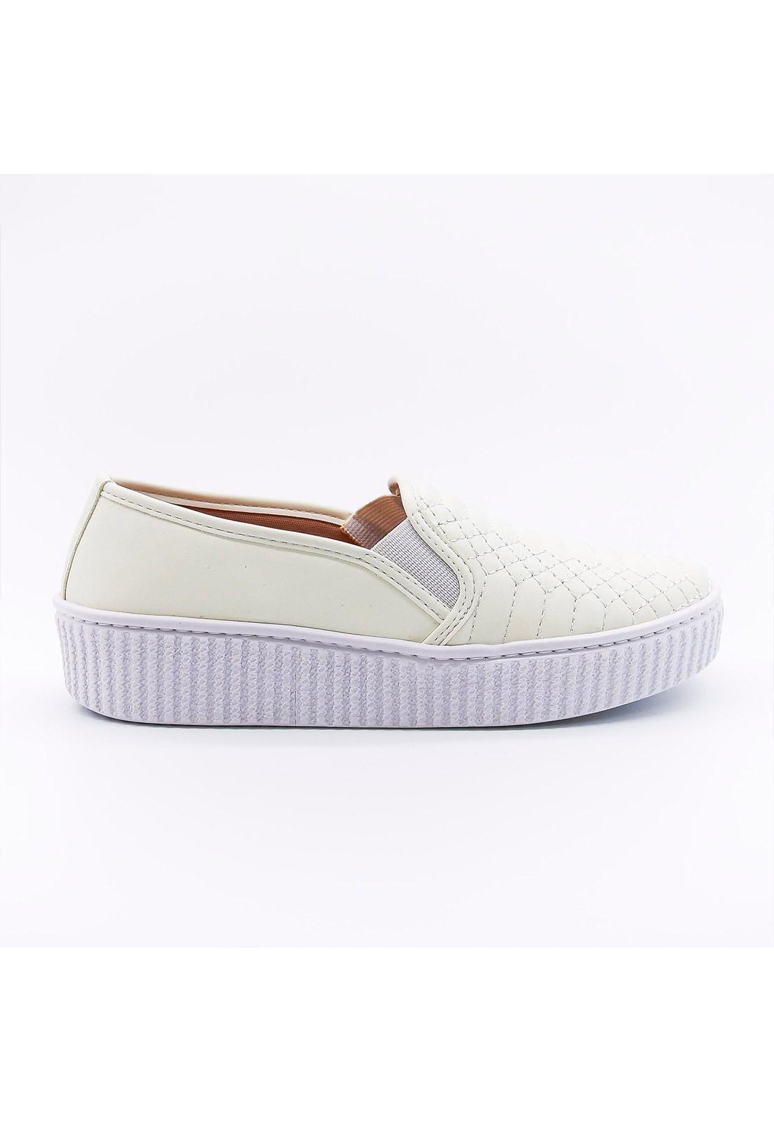 Slip-on branco Bendito Sapato