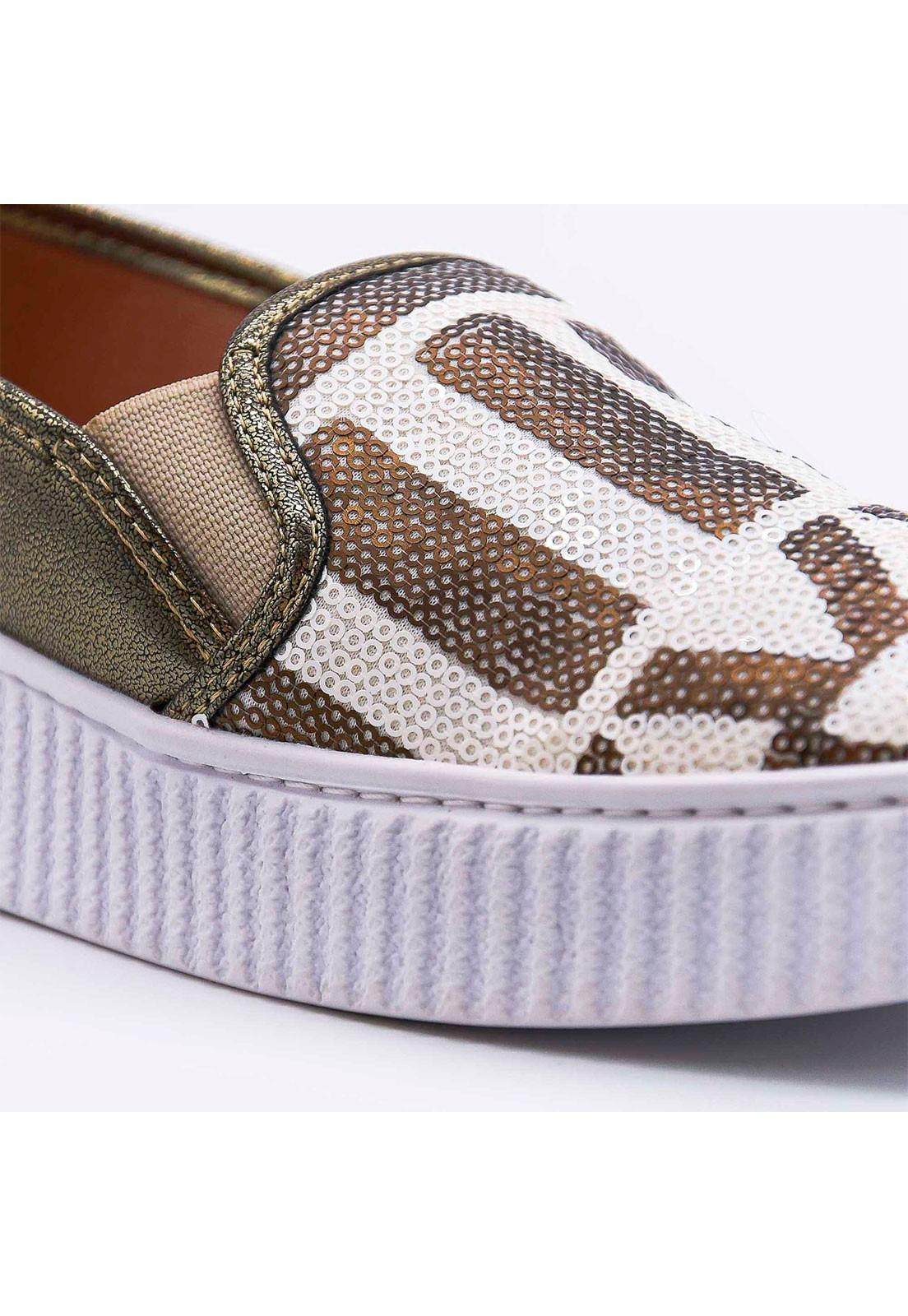 Slip-on metalizado Bendito Sapato