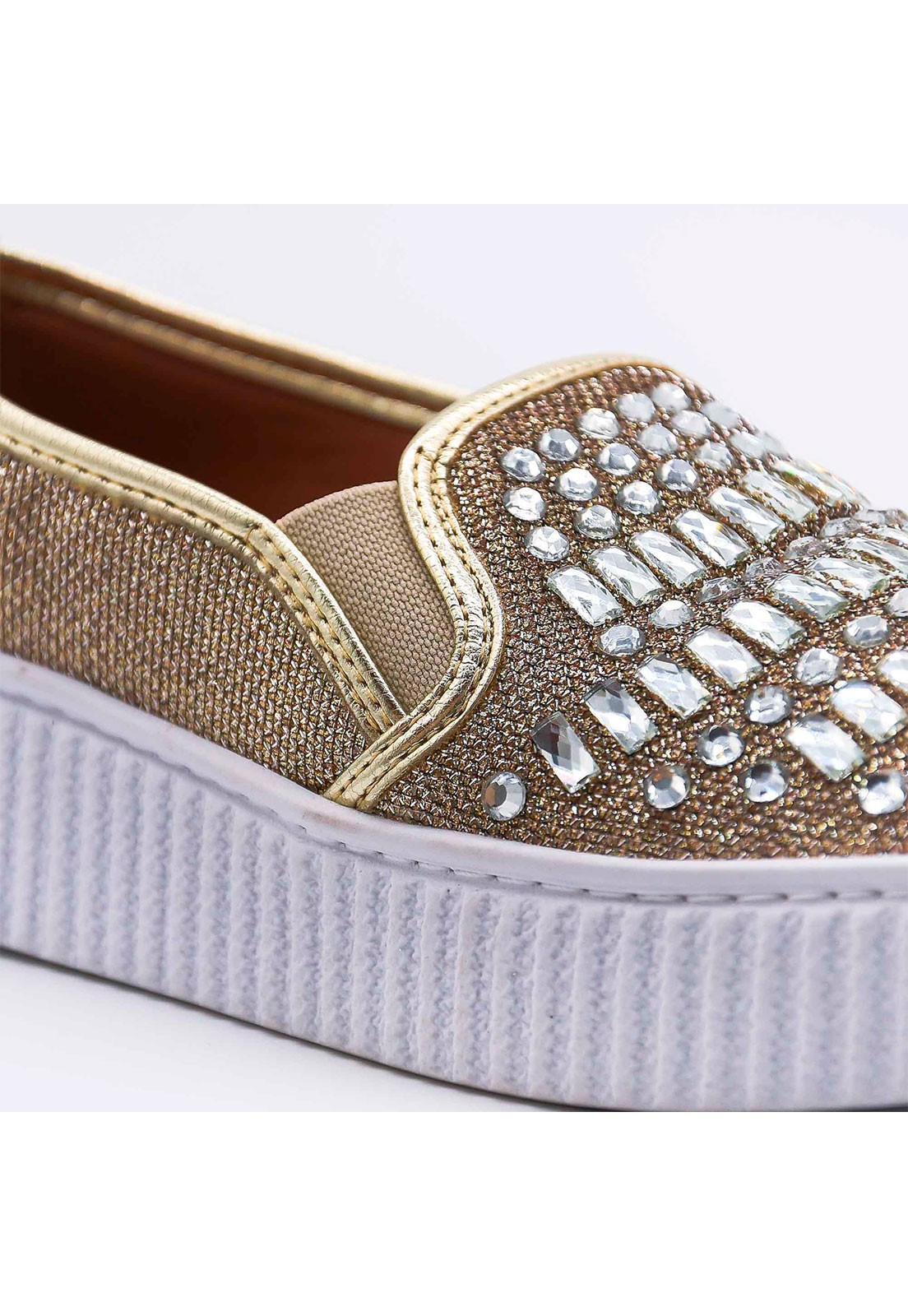 Slip-on pedrarias Bendito Sapato
