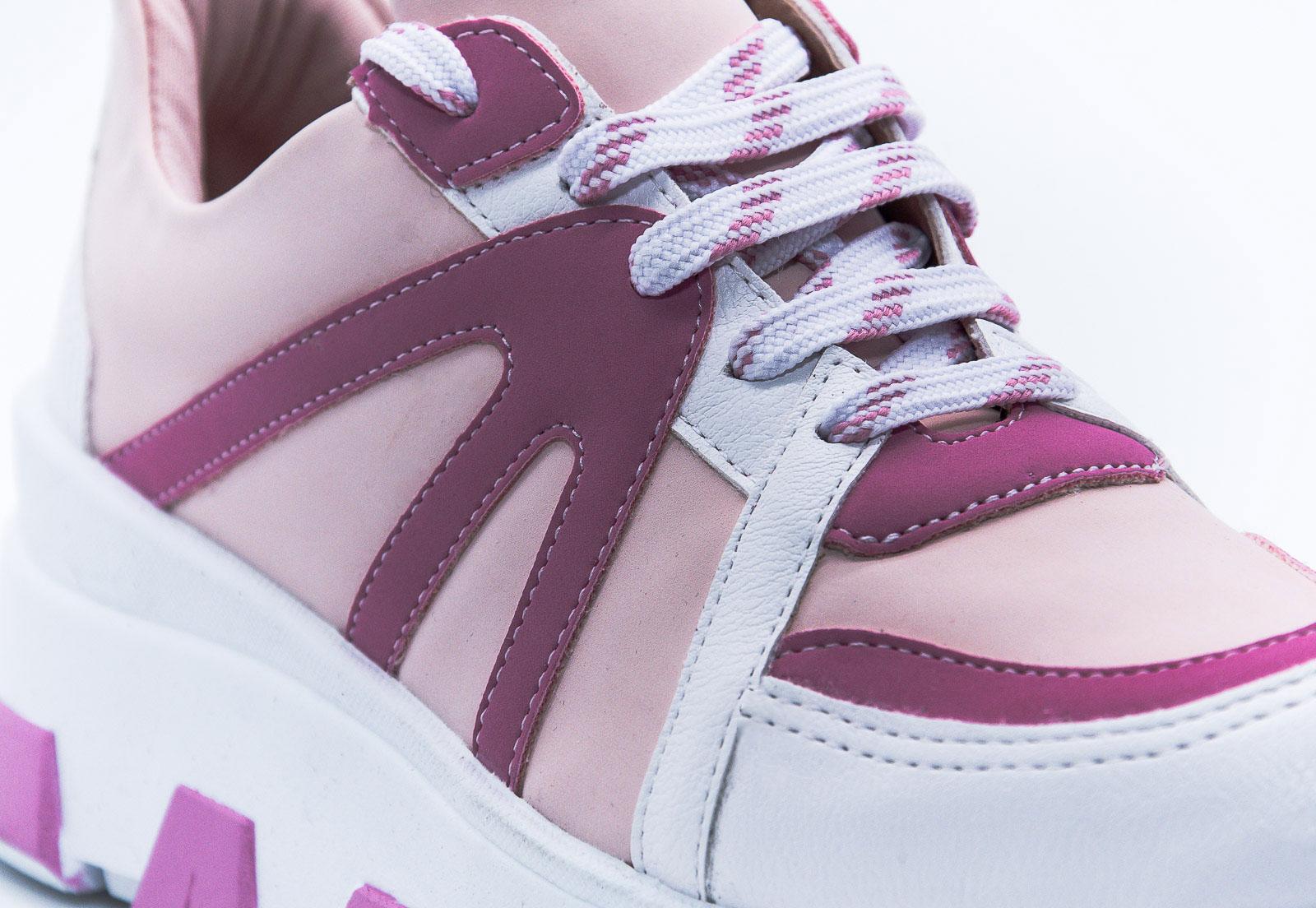 Tênis rosa bebê Bendito Sapato