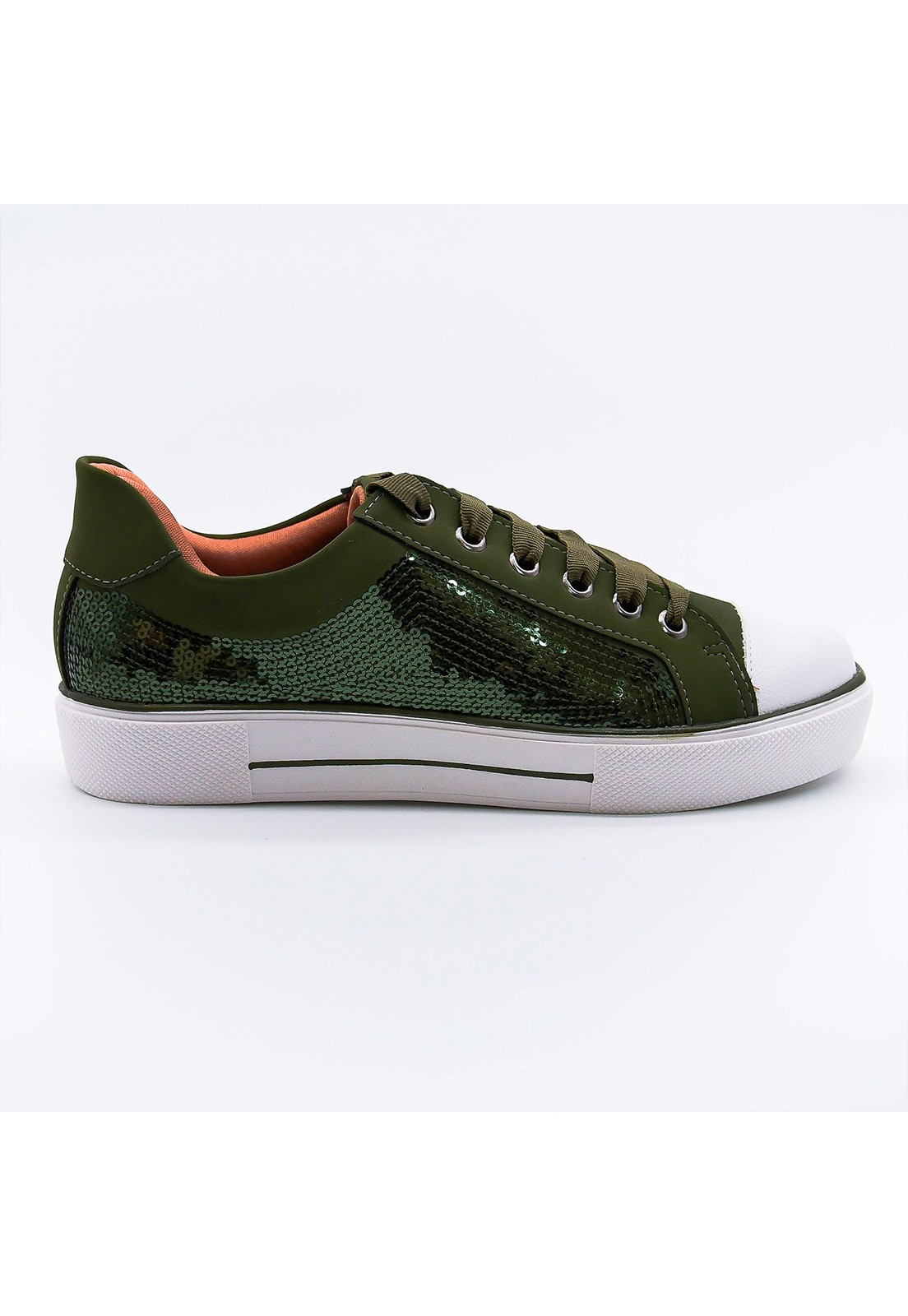 Tênis verde militar Bendito Sapato