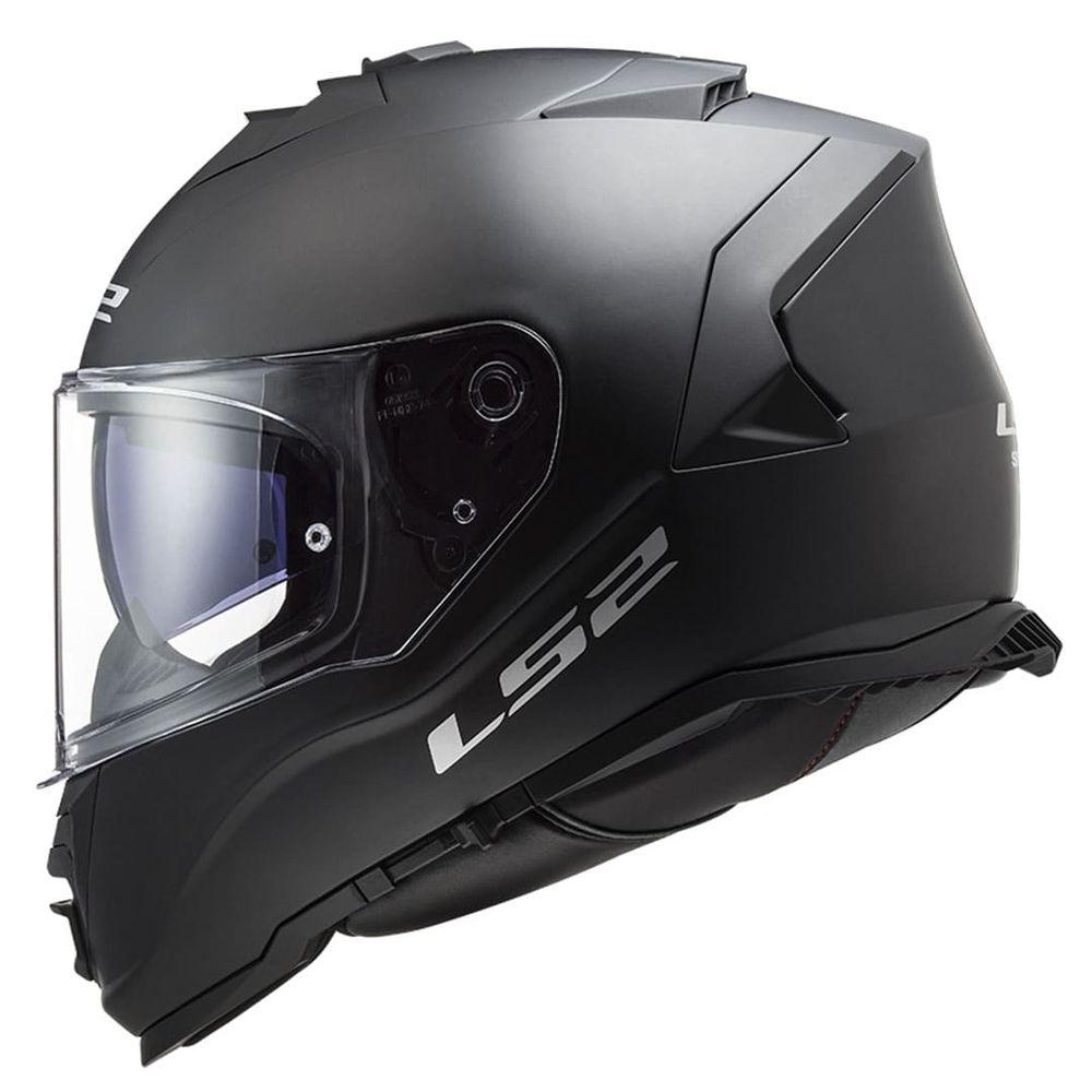 CAPACETE LS2 FF800 STORM MONOCOLOR MATTE BLACK