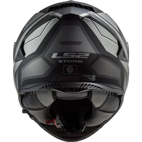 CAPACETE LS2 STORM FF800 RACER - BLACK TITANIUM