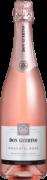 Kit Espumante Moscatel Rose c/ duas taças Don Guerino