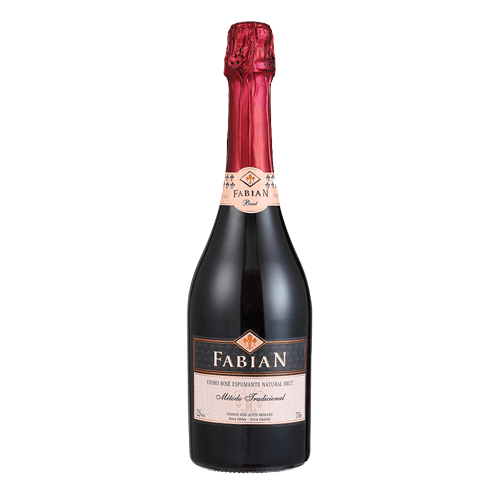 Espumante Fabian Brut Rosé tradicional