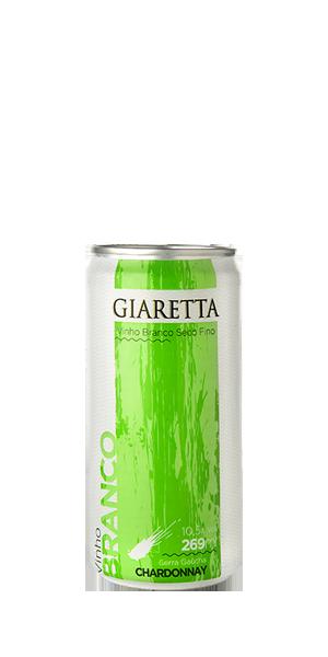 Vinho Lata Chardonnay Giaretta
