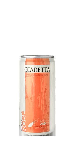 Vinho Lata Rosé Giaretta