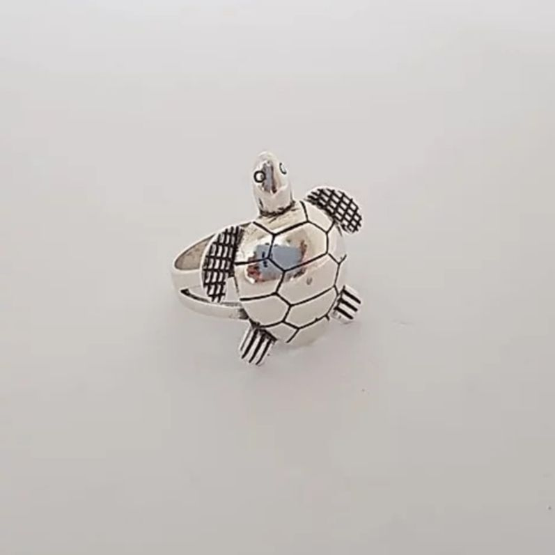 Anel de Prata Tartaruga Marinha