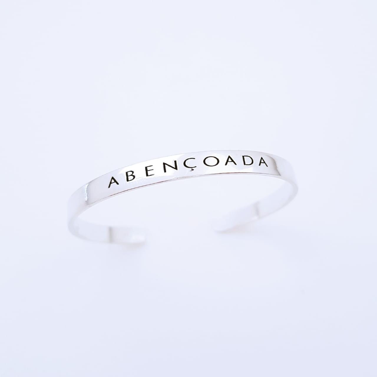 Bracelete de Prata Abençoada