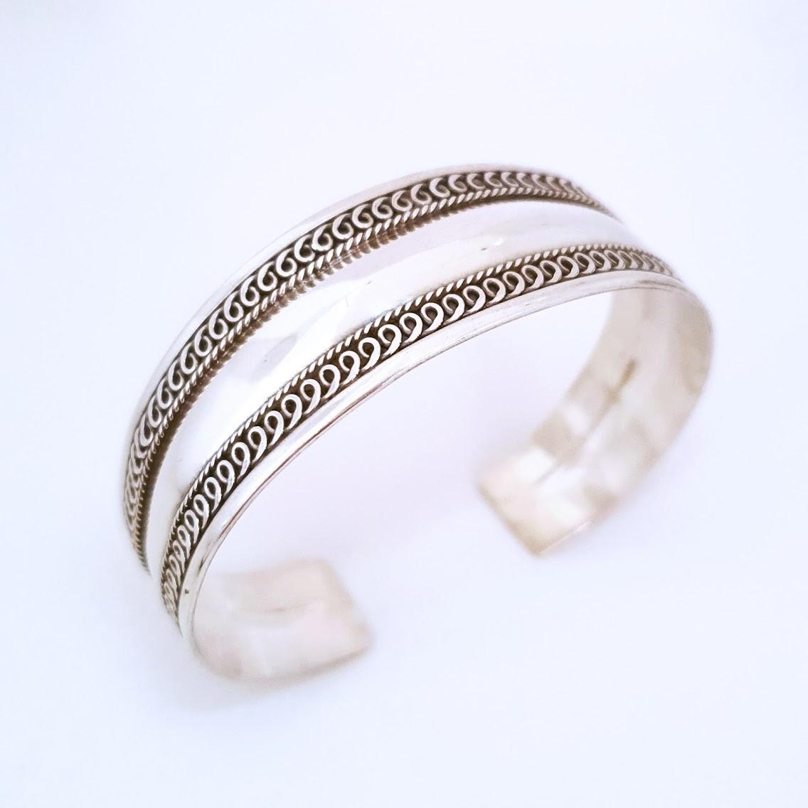 Bracelete de Prata Bali