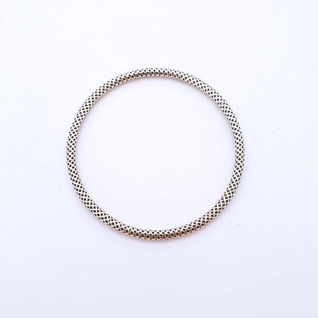 Bracelete de Prata Indiano