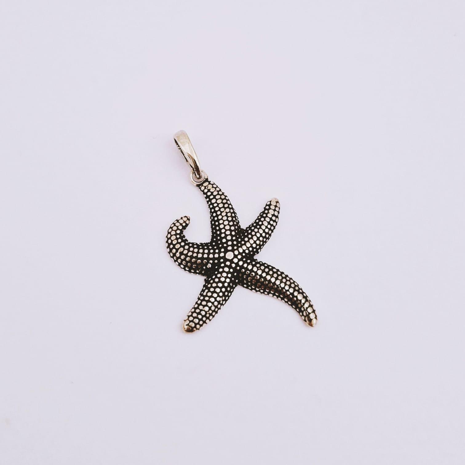 Pingente de Prata Estrela do Mar Thai